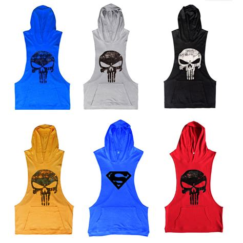 Sweater Hoodie The Puniser Best Clothing 2017 wholesale 2016 mens bodybuilding clothing