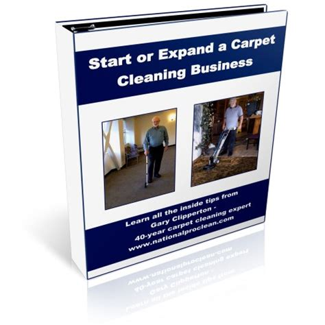 start carpet cleaning business books and software for the cleaning janitorial and custodial industries