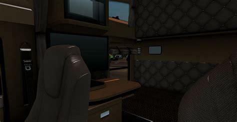 kenworth  brown interior  ats american truck
