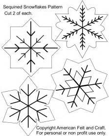 snowflake american felt craft blog