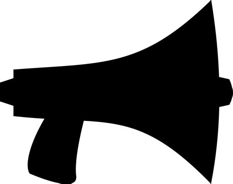 megaphone clipart file megaphone vector svg wikimedia commons