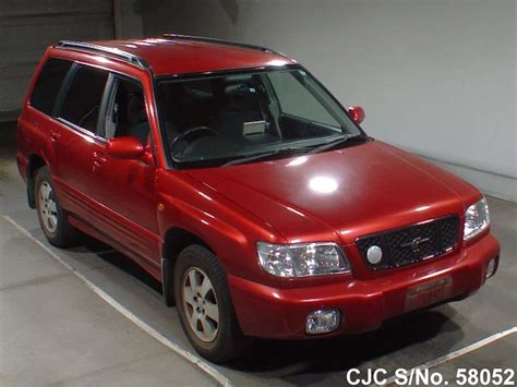 red subaru forester 2000 2000 subaru forester red for sale stock no 58052