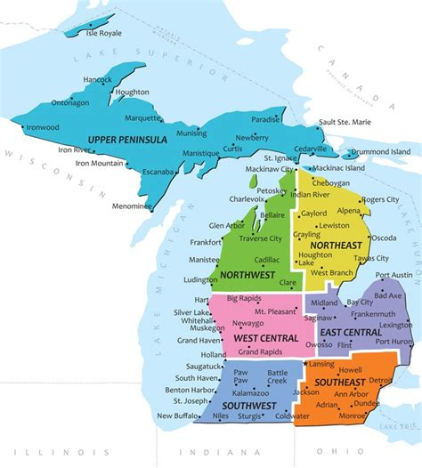 city map of michigan map of michigan need to venture further explore