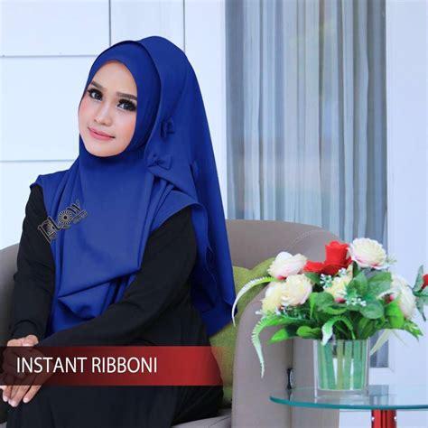 Jilbab Instan Coupli Slup Pita model jilbab lebaran terbaru 2017 jilbab instan ribboni bundaku net