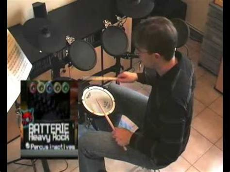 tutorial my hero drum play guitar hero world tour with a midi electronic drum