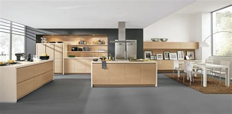 cuisine design sans poign 233 es en bois