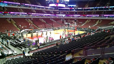 united center section 108 united center section 114 chicago bulls rateyourseats com