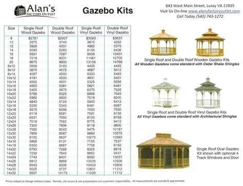 gazebo prices gazebo prices image search results