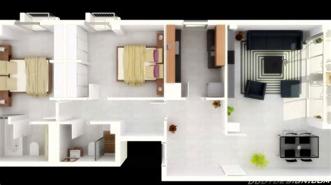 home design 3d ideas 2 bedroom house plans 3d view ideas design a house