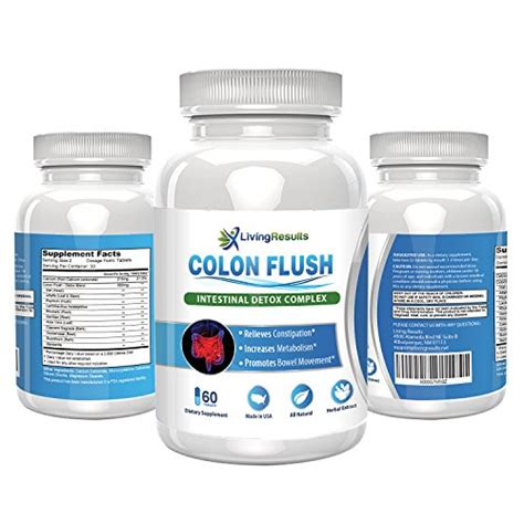 Colon Detox Vitamin C Flush by Colon Flush Supplement Colon Cleanse Detox With Aloe