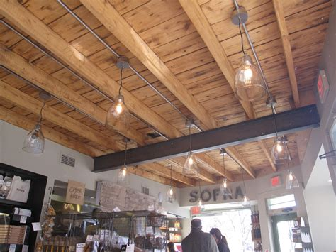 Exposed Ceiling Lighting by Pop Bop Shop Dining Out Sofra