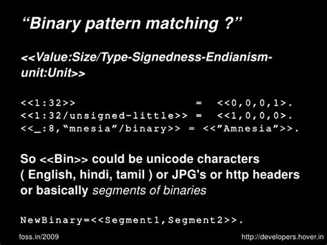 nlp amnesia pattern parsing binaries and protocols with erlang