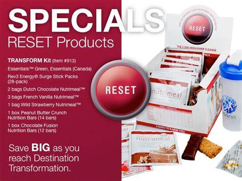 reset program usana your health your lifestyle