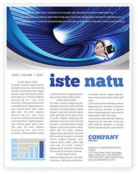 digital newsletter templates free digital tunnel newsletter template for microsoft word