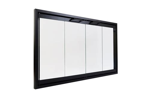 Bi Fold Fireplace Glass Doors by The Top Fireplace Accessories Sets Fireplace
