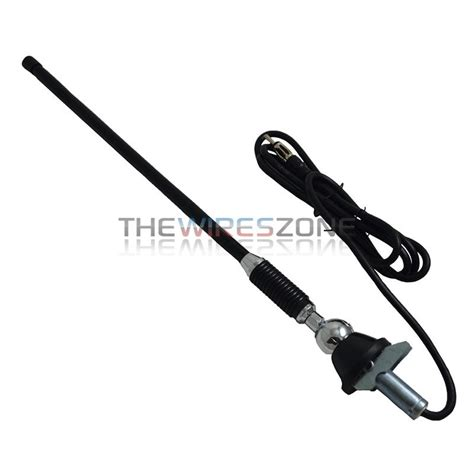 universal rubber roof mount swivel base car stereo am fm antenna 691198639310 ebay