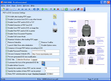 compress pdf exe pdf2exe pro professional pdf to exe converter for your