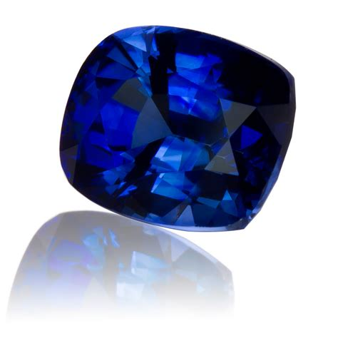 Blue Saphire Ceylon ceylon royal blue sapphire cushion 2 33ct king gems