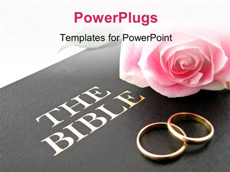 buy wedding bible powerpoint template pink and wedding bands on holy