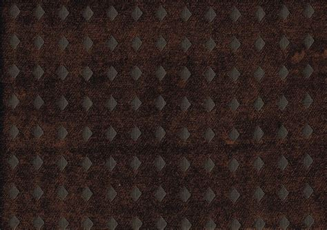 designer upholstery designer fabric brown tone on tone chenille diamonds