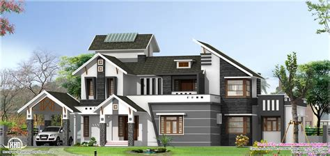5 bedroom modern house modern 5 bedroom home design kerala home design and