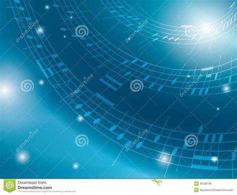 imagenes de notas musicales wallpapers fondo azul con las notas musicales ilustraci 243 n del vector