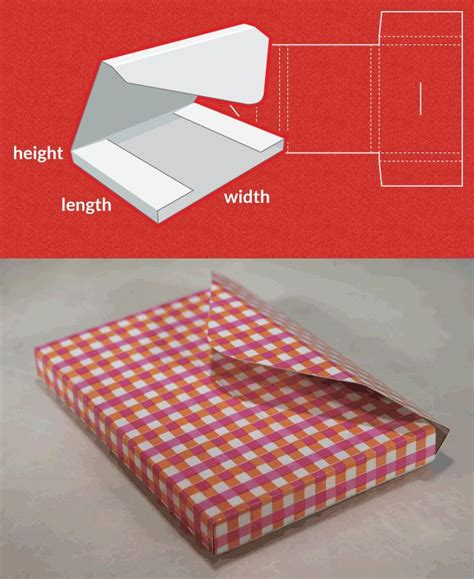 Completely Custom Sized Template For A Mailer Http Www Templatemaker Nl Mailer Paper Crafts Custom Box Template