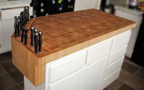 butcher s block cart eclectic kitchen islands and custom built in knife block on butcher block work island