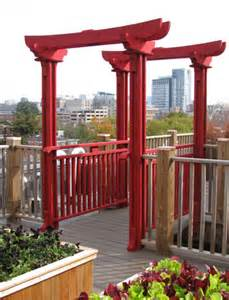 Asian Pergola by Asian Style Pergola No Asp3 By Trellis Structures