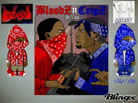 blood vs crip picture 64486853 blingee