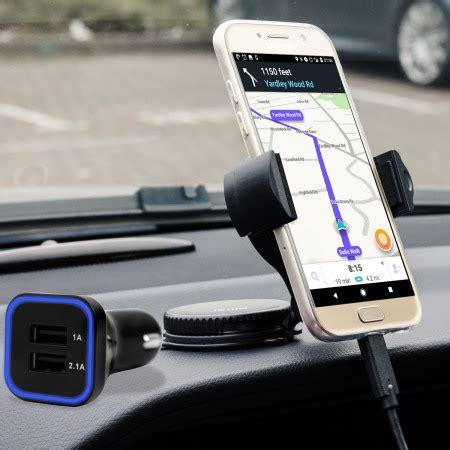 olixar drivetime samsung galaxy   car holder charger pack