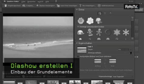 photoshop elements layout erstellen video diashow erstellen i
