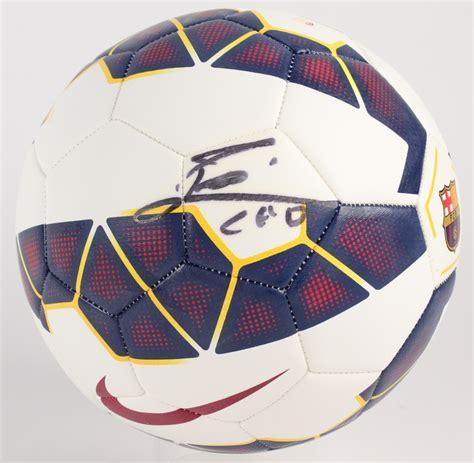 Kaos Premium Messi Logo Black sports memorabilia auction pristine auction