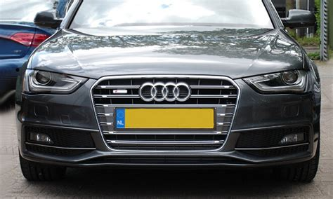 audi accessories a4 a4 b9 s4 chrome car front grille for audi a4 modification