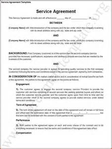Service Agreement Template Free 11 Contract For Services Template Contract Template