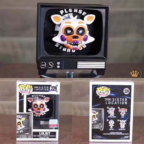 Funko Pop Fnaf Location Lolbit Nycc Exclusive 229 check out these nycc exclusive funko pop vinyls