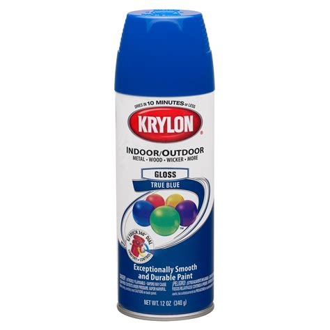 krylon true blue paint spray shop your way shopping earn points on tools