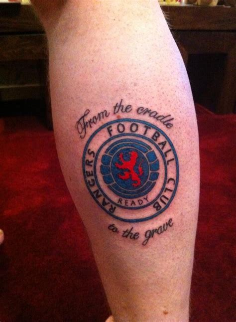 glasgow rangers tattoos designs rangers rangers tattoos ranger