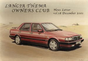 Lancia Owners Club Lancia Thema Owners Club