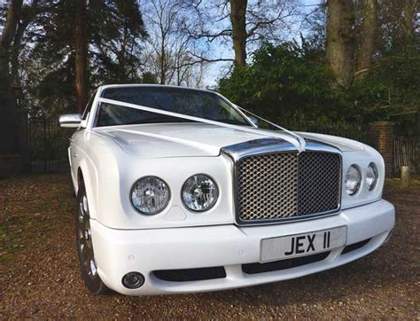 bentley arnage white rent a white bentley arnage luxury car hire in