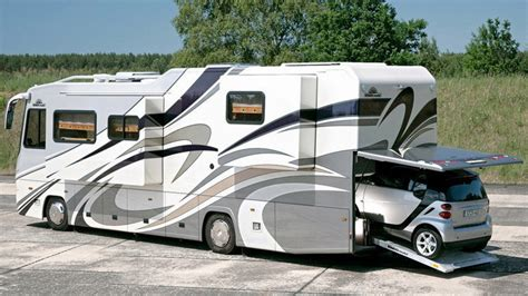 Rv With Smart Car Garage by Everything You Need To Make Roughing It Not So