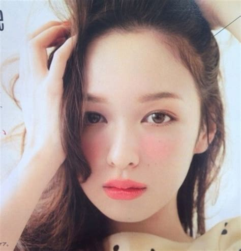 Eyeshadow Japan k netizone instiz japanese makeup style that is trending