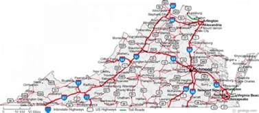 Map Virginia by Map Of Virginia Cities Map Holiday Travel