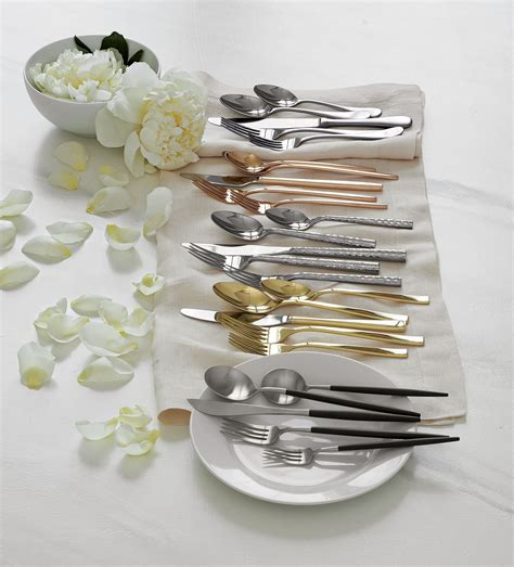 how to set a table with silverware set the table with beautiful flatware and utensils from