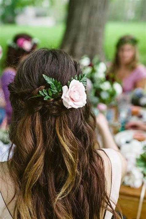 Bohemian Wedding Hairstyles For Hair by 40 Best Bohemian Hair Hairstyles 2017