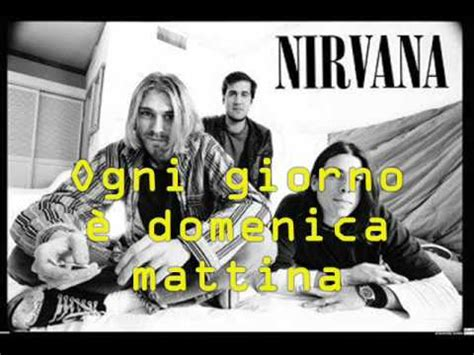nirvana come as you are testo nirvana lithium con sottotitoli in italiano
