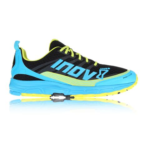 ultra distance running shoes inov8 race ultra 290 mens blue black trail running sport