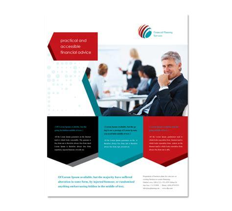 Financial Planning Flyer Template
