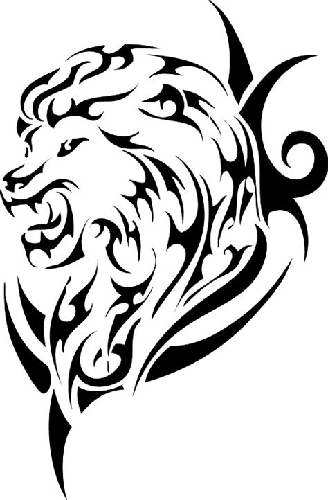 lion tribal tattoo designs 18 magnificent tribal only tribal