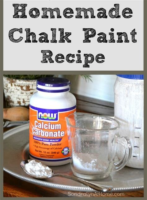 my diy chalk paint is gritty diy chalk paint recipe lyn at home